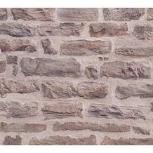 AS Création Vliestapete Best of Wood'n Stone 2nd Edition beige braun 355801 10,05 m x 0,53 m