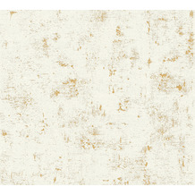 AS Création Vliestapete Blooming Tapete in Vintage Optik weiß metallic 230775 10,05 m x 0,53 m