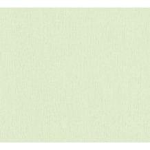AS Création Vliestapete Blooming Tapete Uni grün 288509 10,05 m x 0,53 m
