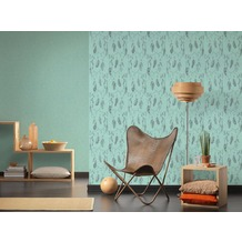 AS Création Vliestapete Boho Love Tapete blau grün 10,05 m x 0,53 m