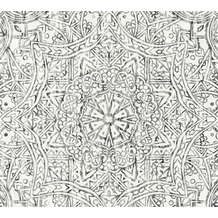AS Création Vliestapete Boho Love Tapete im Ethno Look schwarz weiß grau 364613 10,05 m x 0,53 m