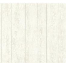 AS Création Vliestapete Boho Love Tapete in Vintage Holz Optik creme beige grau 364602 10,05 m x 0,53 m