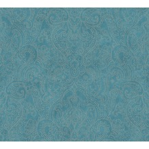 AS Création Vliestapete Boho Love Tapete metallic blau grün 364583 10,05 m x 0,53 m