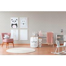 AS Création Vliestapete Boys & Girls 6 Tapete gepunktet grau weiß 10,05 m x 0,53 m