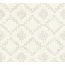AS Création Vliestapete California Tapete im Ethno Look beige creme grau 363751 10,05 m x 0,53 m