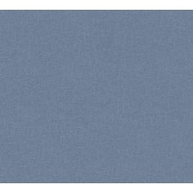 AS Création Vliestapete California Tapete Unitapete blau 363961 10,05 m x 0,53 m