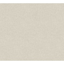 AS Création Vliestapete California Tapete Unitapete grau beige 363962 10,05 m x 0,53 m