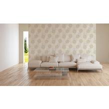 AS Création Vliestapete Character Tapete im Ethno Look beige creme grau 10,05 m x 0,53 m