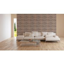 AS Création Vliestapete Character Tapete in Vintage Optik beige braun creme 10,05 m x 0,53 m