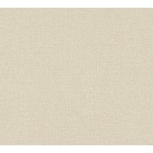 AS Création Vliestapete Character Tapete Uni beige 367762 10,05 m x 0,53 m