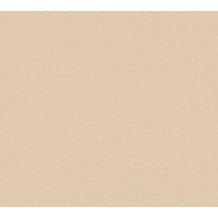 AS Création Vliestapete Character Tapete Uni beige 367778 10,05 m x 0,53 m
