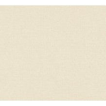 AS Création Vliestapete Character Tapete Uni beige creme 367776 10,05 m x 0,53 m