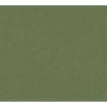 AS Création Vliestapete Character Tapete Uni grün 367773 10,05 m x 0,53 m