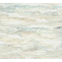 AS Création Vliestapete Côte d'Azur Tapete beige blau grün 354091 10,05 m x 0,53 m