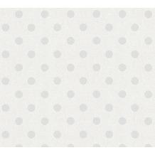 AS Création Vliestapete Elegance 5th Avenue Tapete creme grau weiß 361482 10,05 m x 0,53 m