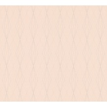 AS Création Vliestapete Emotion Graphic Tapete geometrisch grafisch beige rosa 368796 10,05 m x 0,53 m