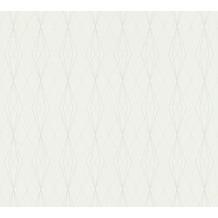 AS Création Vliestapete Emotion Graphic Tapete geometrisch grafisch grau 368799 10,05 m x 0,53 m