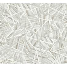 AS Création Vliestapete Emotion Graphic Tapete geometrisch grafisch grau weiß 368852 10,05 m x 0,53 m