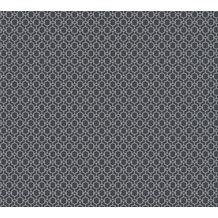 AS Création Vliestapete Emotion Graphic Tapete geometrisch grafisch metallic schwarz 368831 10,05 m x 0,53 m
