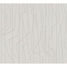 AS Création Vliestapete Emotion Graphic Tapete gestreift grafisch grau 368782 10,05 m x 0,53 m
