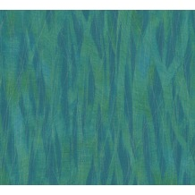 AS Création Vliestapete Emotion Graphic Tapete im Ethno Look blau grün metallic 368841 10,05 m x 0,53 m