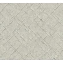 AS Création Vliestapete Emotion Graphic Tapete in Vintage Optik grau 368812 10,05 m x 0,53 m