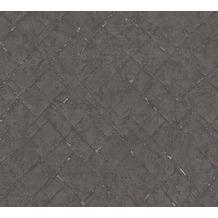 AS Création Vliestapete Emotion Graphic Tapete in Vintage Optik metallic schwarz 368816 10,05 m x 0,53 m
