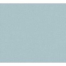 AS Création Vliestapete Emotion Graphic Tapete Uni blau 368822 10,05 m x 0,53 m