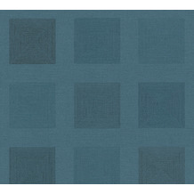 AS Création Vliestapete Ethnic Origin Tapete geometrisch grafisch blau 371721 10,05 m x 0,53 m