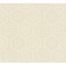AS Création Vliestapete Ethnic Origin Tapete geometrisch grafisch creme grau beige 371772 10,05 m x 0,53 m