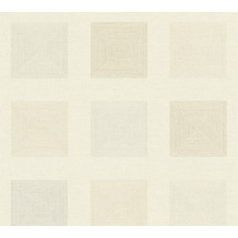 AS Création Vliestapete Ethnic Origin Tapete geometrisch grafisch metallic creme 371723 10,05 m x 0,53 m