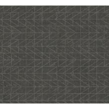 AS Création Vliestapete Ethnic Origin Tapete geometrisch grafisch metallic schwarz 371741