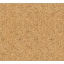 AS Création Vliestapete Ethnic Origin Tapete im Ethno Look orange schwarz 371761