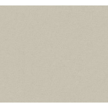 AS Création Vliestapete Ethnic Origin Tapete Uni grau beige 371782 10,05 m x 0,53 m