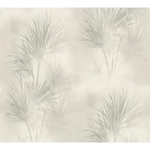 AS Création Vliestapete Exotic Life Tapete mit Palmenblättern grau 372751 10,05 m x 0,53 m