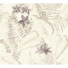 AS Création Vliestapete Exotic Life Tapete tropisch floral natürlich beige braun grau 372793 10,05 m x 0,53 m