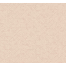AS Création Vliestapete Exotic Life Tapete Uni geometrisch grafisch beige orange rosa 372842 10,05 m x 0,53 m