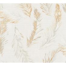 AS Création Vliestapete Four Seasons Tapete beige orange grau 358963 10,05 m x 0,53 m