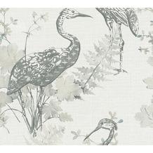 AS Création Vliestapete Four Seasons Tapete grau blau beige 360922 10,05 m x 0,53 m