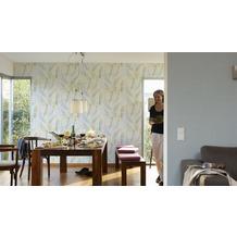 AS Création Vliestapete Four Seasons Tapete grau gelb 10,05 m x 0,53 m