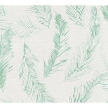 AS Création Vliestapete Four Seasons Tapete grün blau grau 358964 10,05 m x 0,53 m