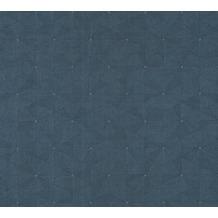 AS Création Vliestapete Four Seasons Tapete metallic blau 358956 10,05 m x 0,53 m