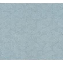AS Création Vliestapete Four Seasons Tapete metallic blau 358957 10,05 m x 0,53 m