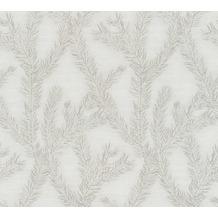AS Création Vliestapete Four Seasons Tapete metallic grau beige 358982 10,05 m x 0,53 m