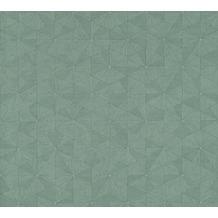 AS Création Vliestapete Four Seasons Tapete metallic grün 358959 10,05 m x 0,53 m