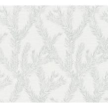 AS Création Vliestapete Four Seasons Tapete metallic weiß 358984 10,05 m x 0,53 m