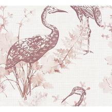 AS Création Vliestapete Four Seasons Tapete rosa lila beige 360924 10,05 m x 0,53 m