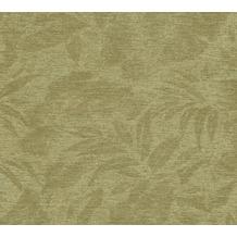 AS Création Vliestapete Greenery Tapete mit Blätter Motiv grün 372194 10,05 m x 0,53 m