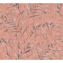 AS Création Vliestapete Greenery rosa rot orange 373354 10,05 m x 0,53 m