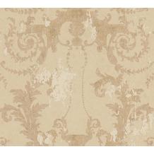 AS Création Vliestapete History of Art Barocktapete beige gold 376483 10,05 m x 0,53 m